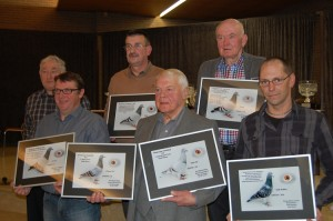 Daneels/Dierckx tandem - As golub u Houtvens fondclubu 2012.