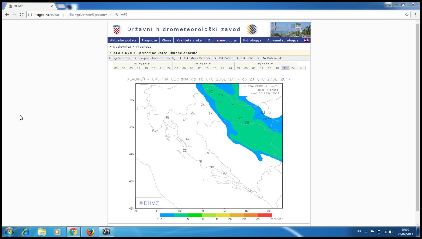 New Weather Forecast From Final Day 2309 Najnovija
